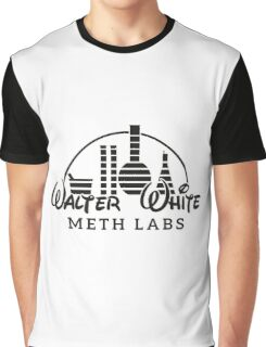 Walter White Meth Labs Graphic T-Shirt