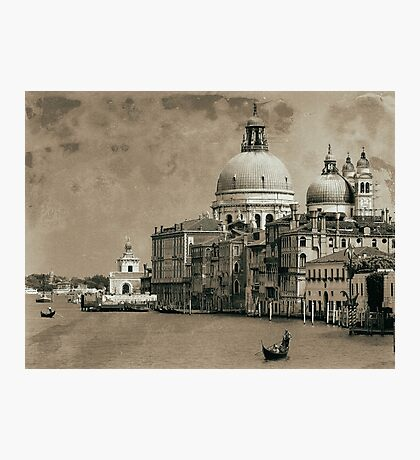 One day in Venice Photographic Print