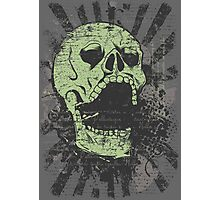Warrior Skull Photographic Print