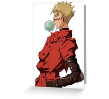 Trigun Greeting Card