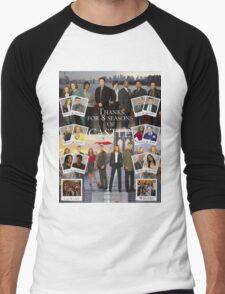 Thanks Castle Men's Baseball ¾ T-Shirt