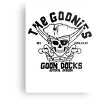 Goon Docks Goonies Metal Print