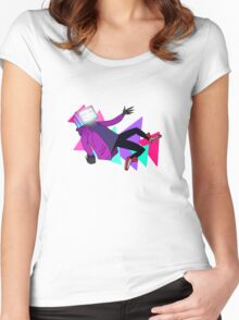 Pyrocynical falling Women's Fitted Scoop T-Shirt