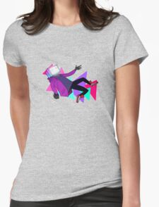Pyrocynical falling Womens Fitted T-Shirt