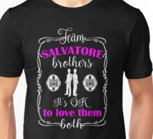 Team Salvatore Brothers. TVD. Unisex T-Shirt