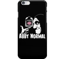 Abby Normal v2 iPhone Case/Skin