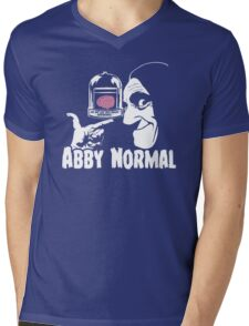 Abby Normal v2 Mens V-Neck T-Shirt