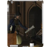 Lottie at fireplace iPad Case/Skin