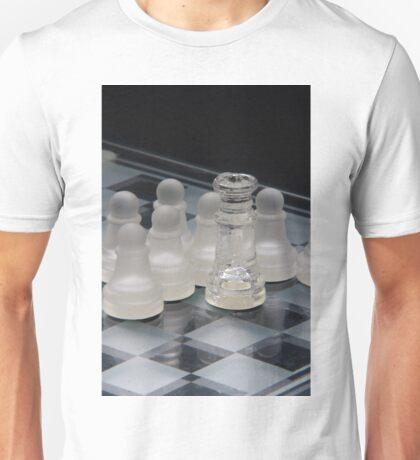 Chess Queen Following Unisex T-Shirt