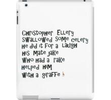 Witty Ditty Giraffe iPad Case/Skin