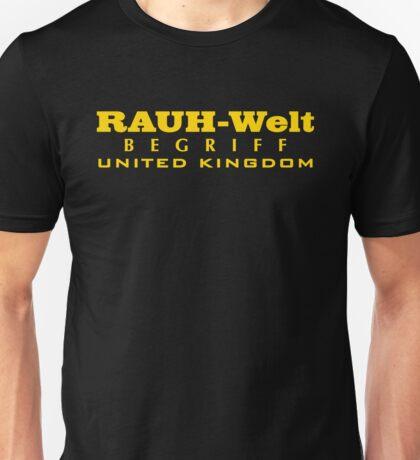 RAUH-WELT BEGRIFF : UNITED KINGDOM Unisex T-Shirt