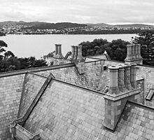 Roof, Government House Tasmania by Brett Rogers