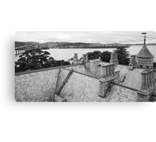 Roof, Government House Tasmania Canvas Print