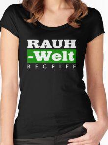 RAUH-WELT BEGRIFF : GREEN Women's Fitted Scoop T-Shirt