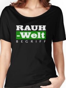 RAUH-WELT BEGRIFF : GREEN Women's Relaxed Fit T-Shirt