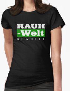 RAUH-WELT BEGRIFF : GREEN Womens Fitted T-Shirt