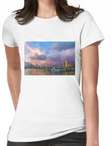Tropical Sky - Impressions of Hawaii Womens Fitted T-Shirt