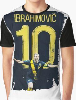 ibrahimovic 10 Graphic T-Shirt