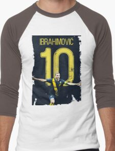 ibrahimovic 10 Men's Baseball ¾ T-Shirt