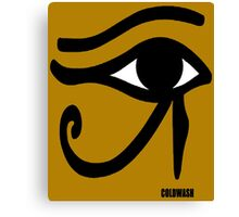 THE EYE OF HORUS Canvas Print