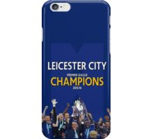 Leicester City FC - CHAMPIONS iPhone Case/Skin