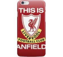 anfield liverpool iPhone Case/Skin