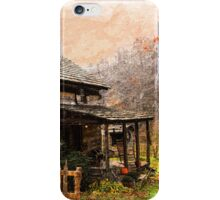 Old Country Home iPhone Case/Skin