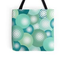 blue ball seamless pattern Tote Bag