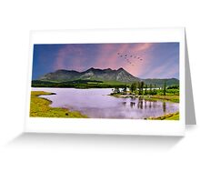 Lakes of Connemara Co. Galway, Ireland      Greeting Card