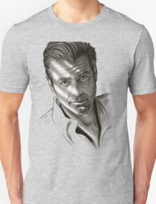G. Clooney in black and white Unisex T-Shirt