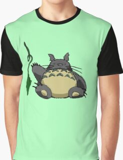 Gotta Catch the Snoring Totoro Graphic T-Shirt