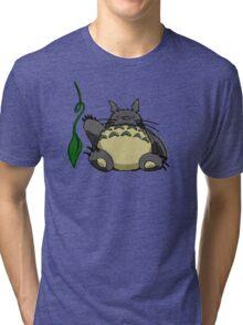 Gotta Catch the Snoring Totoro Tri-blend T-Shirt