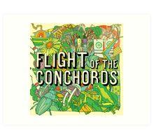 Flight of the Conchords - Album Art Print