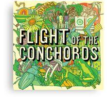 Flight of the Conchords - Album Canvas Print