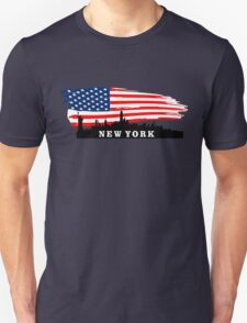 New York Flag  Unisex T-Shirt