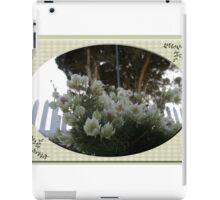 Unknown Flower iPad Case/Skin