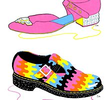 Trippy Shoes by Emily Brinkley