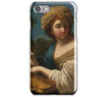 Giovanni Francesco Romanelli, called Viterbese VITERBO CIRCA  CECILIA iPhone Case/Skin