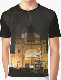 0165 Exhibition Building, Melbourne Graphic T-Shirt