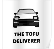 AE86 - The Tofu Deliverer Poster