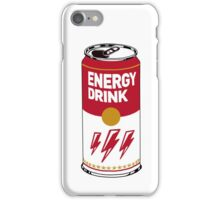 Campbell's energy drink iPhone Case/Skin