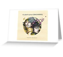 Flight of the Conchords - I Told You I Was Freaky Greeting Card