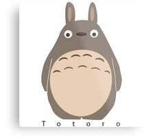 Totoro Metal Print