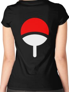 Uchiha Clan symbol Women's Fitted Scoop T-Shirt
