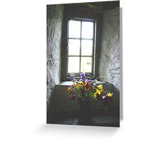Tintagel Post Office Window Greeting Card