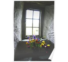 Tintagel Post Office Window Poster