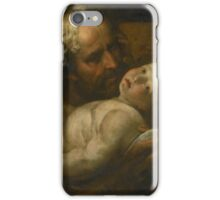 Giulio Cesare Procaccini SAINT JOSEPH AND THE INFANT CHRIST iPhone Case/Skin