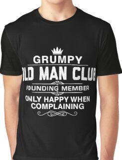 Grumpy Old Man Graphic T-Shirt