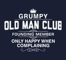 Grumpy Old Man Kids Tee
