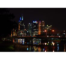 Melbourne at night 12 [r] Photographic Print